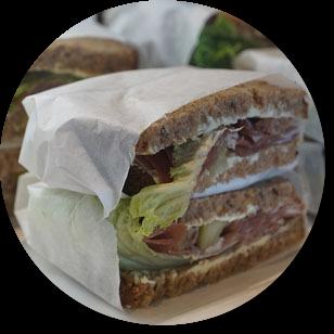 Recept na sendvič na desiatu do školy.