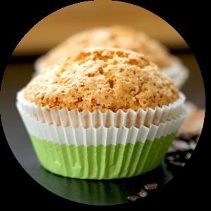 Muffiny z ovsených vločiek a recept.