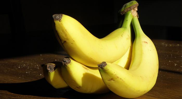 Zdravé recepty po cvičení z banánov.