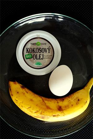 Ingrediencie, ktoré budete potrebovať na recept banánových guliek.