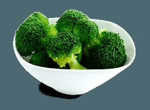 Brokolica a tiež aj polievka z nej má vysoký obsah bielkovín a železa.