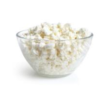 Cottage cheese je v podstate tvaroh, ktorý má bielkoviny v každom jednom kúsku.