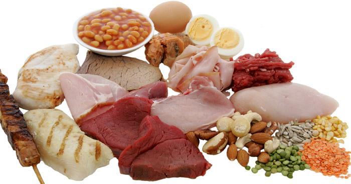 Zoznam potravín s vysokým obsahom bielkovín, ktoré sú pre telo dôležité.