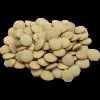 Potraviny, ktoré obsahujú bielkoviny zahŕňajú aj šošovicu a ďalšie strukoviny.