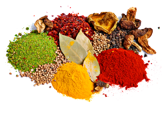 Používajte aj koreniny ako napríklad zázvor, chilli papričky.