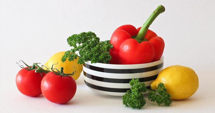 Pitný režim vám pomôže doplniť aj potrava - zelenina obsahuje pomerne dosť vody.