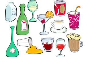 Počas 7-dňovej diéty by ste nemali piť alkohol ani sladené nápoje.