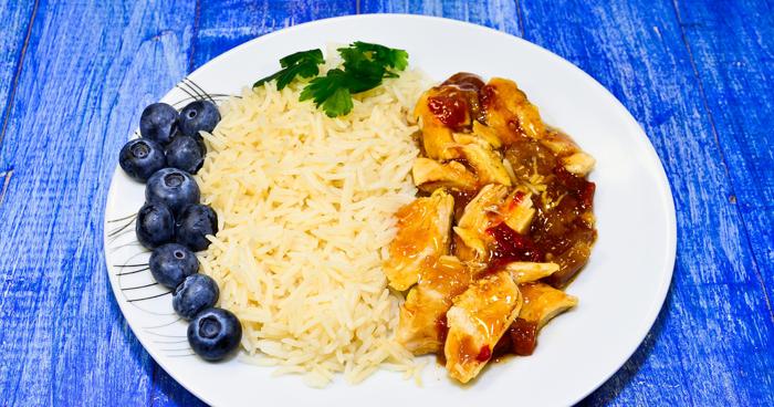 Takéto chutné jedlo môže byť zahrnuté v ryžovej diéte.