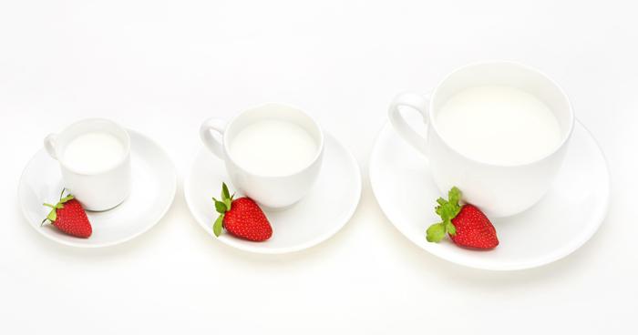 Mliečna diéta si vyžaduje piť dostatočné množstvo mlieka.
