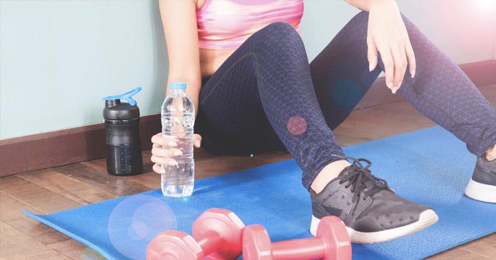 Pitný režim pri cvičení