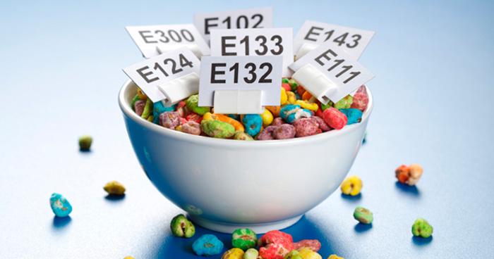 Nebezpečné éčka, prídavné látky a aditíva v potarvinách.