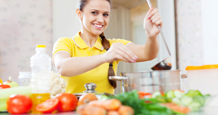 Žalúdočné vredy si vyžadujú zdravé varenie.