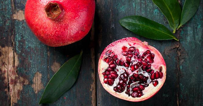 Ako jesť granátové jablko