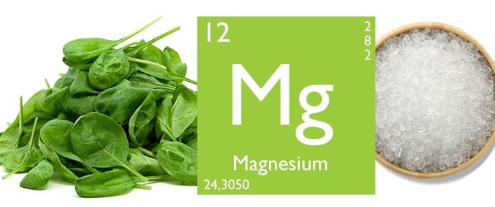 Potraviny s obsahom magnézia a horčíka