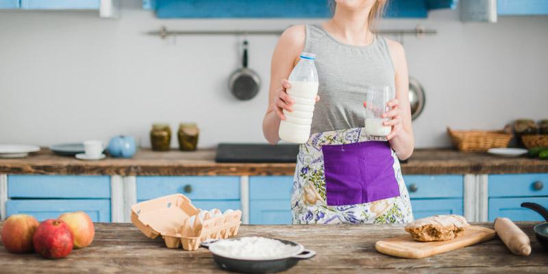 Strava pri alergii na mlieko