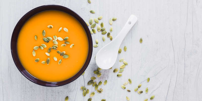 Tekvicová polievka recept.