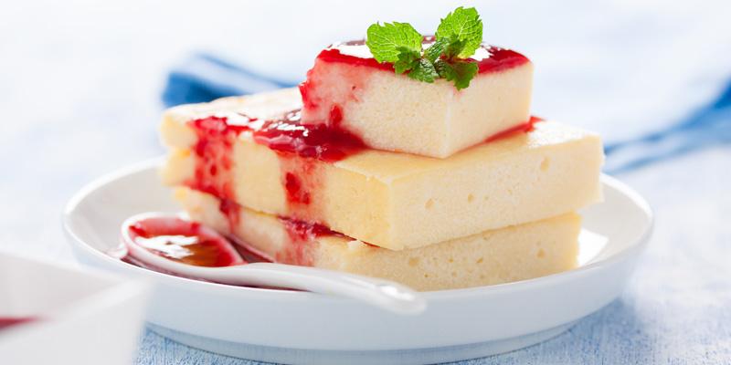 Recept na pečený malinový cheesecake - sladké a zdravé recepty,