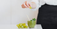 Ovocné smoothie - hroznové smoothie recept