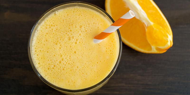 Pomarančovo-banánové smoothie na ráno