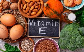 Vitamín E v potravinách