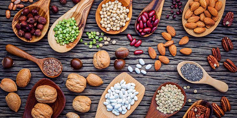 Potraviny s obsahom vitamínu E