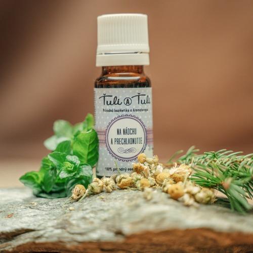 Esenciálny olej na nádchu a prechladnutie